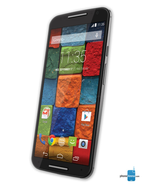 Motorola Moto X (2014), 73.18% screen-to-body ratio