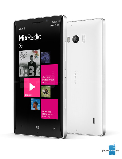 Nokia Lumia 930, 70.78% screen-to-size ratio
