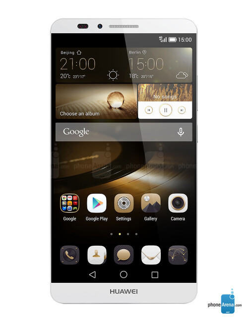 Huawei Ascend Mate 7, 78.03% screen-to-body ratio