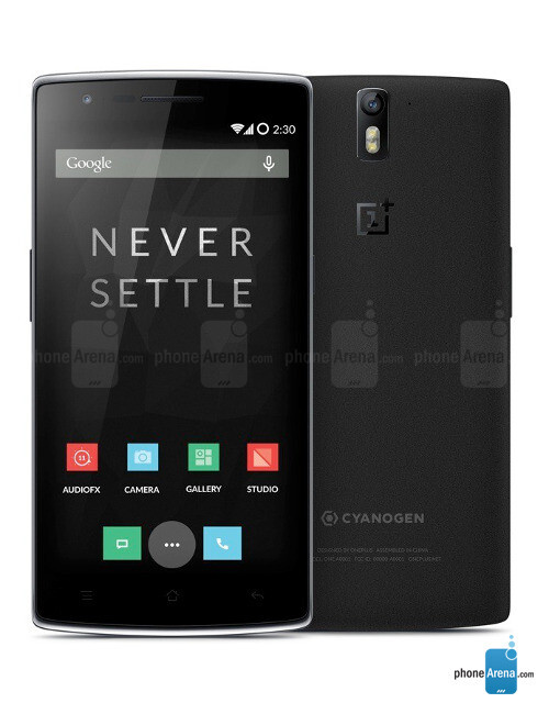 OnePlus One, 71.81% screen-to-body ratio