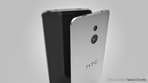 HTC One (M9) concept by Fabrizio D'Onofrio