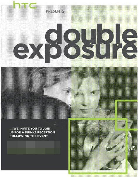 """HTC schedules """"Double Exposure"""" event for October 8 - new selfie phone coming?"""