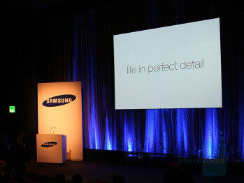 Samsung G800 London Launch Event