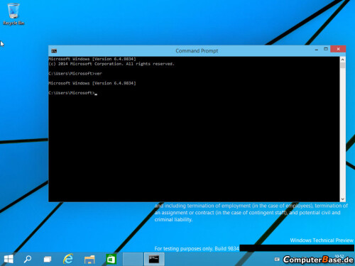 Windows 9 leaked screenshots