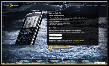 Motorola Q2 coming soon with Sprint