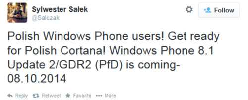 Windows Phone 8.1 GDR2 coming next month