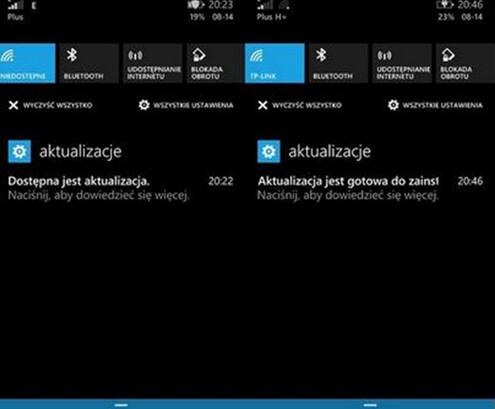 Screenshot of Windows Phone 8.1 GDR2