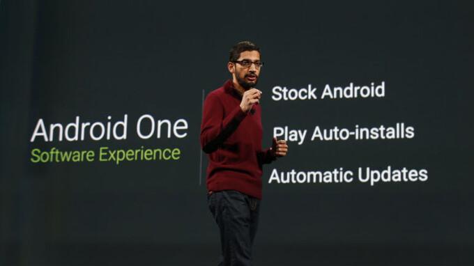 Google kicks off Android One program with three $100 smartphones