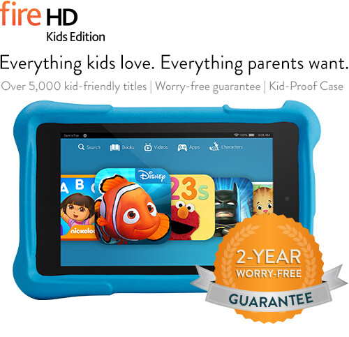 Fire HD6 - Fire HD7 for Kids