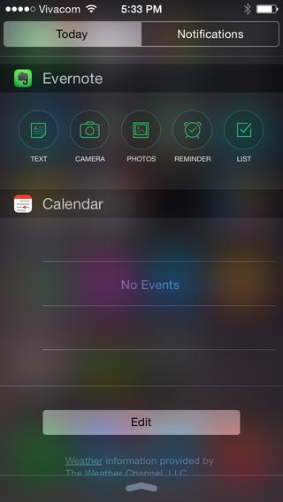 widget gratis iphone