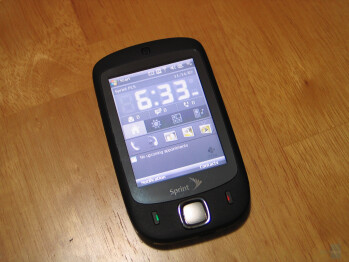 Hands on with HTC Touch