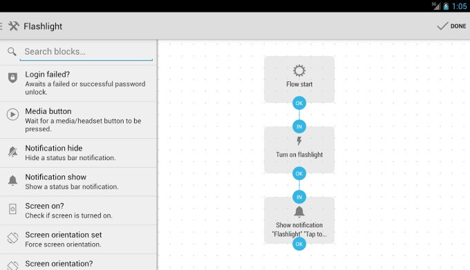 Automate β automates your Android apps with flowcharts