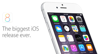 Apple says the adoption rate of iOS 8 stands at 46  five days after its release