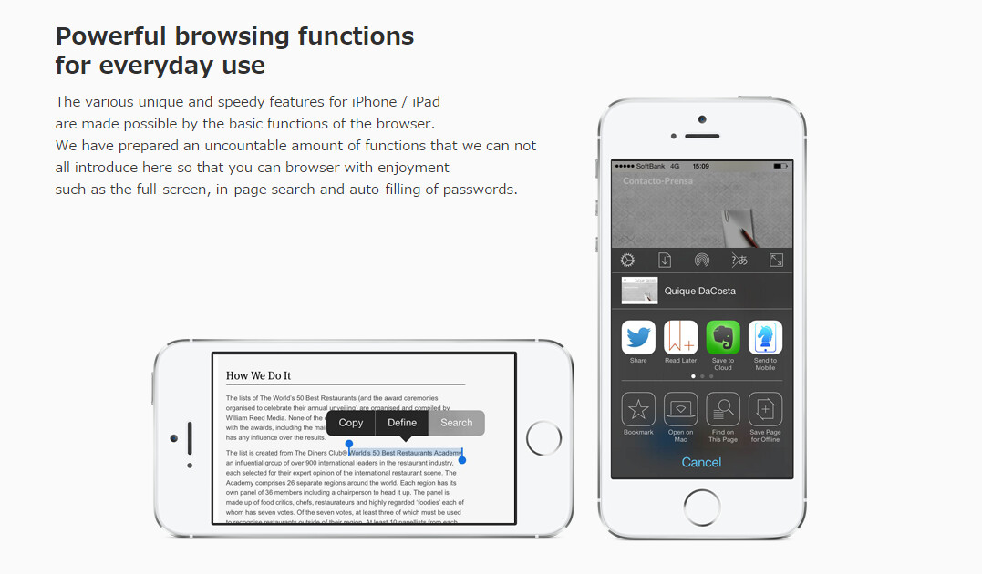 The best alternative iOS 8 browser apps for your iPhone ...