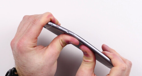 "iPhone 6 Plus doesn't pass the ""bend test"""