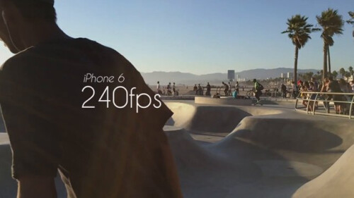 Record awesome slow motion in 240fps