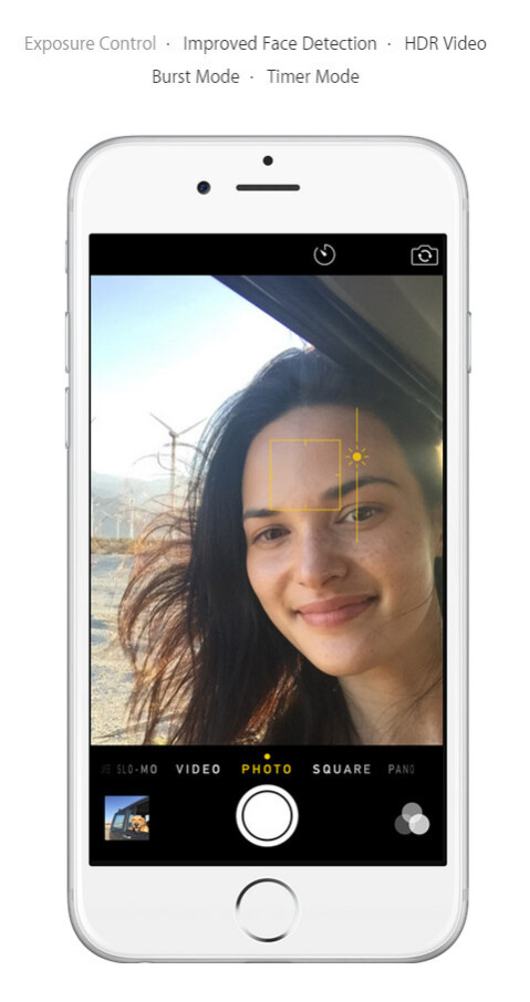 Use the manual exposure control in iOS 8 to come up with better photos