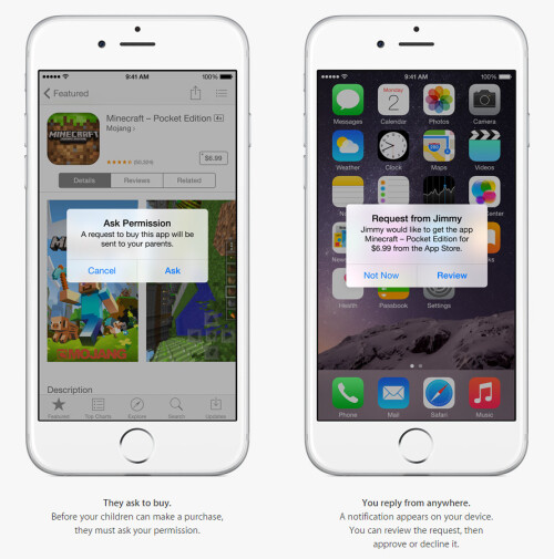 Approve (or don't) kids requests for app and in-app purchases