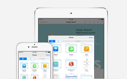 Store any kind of file in iCloud Drive