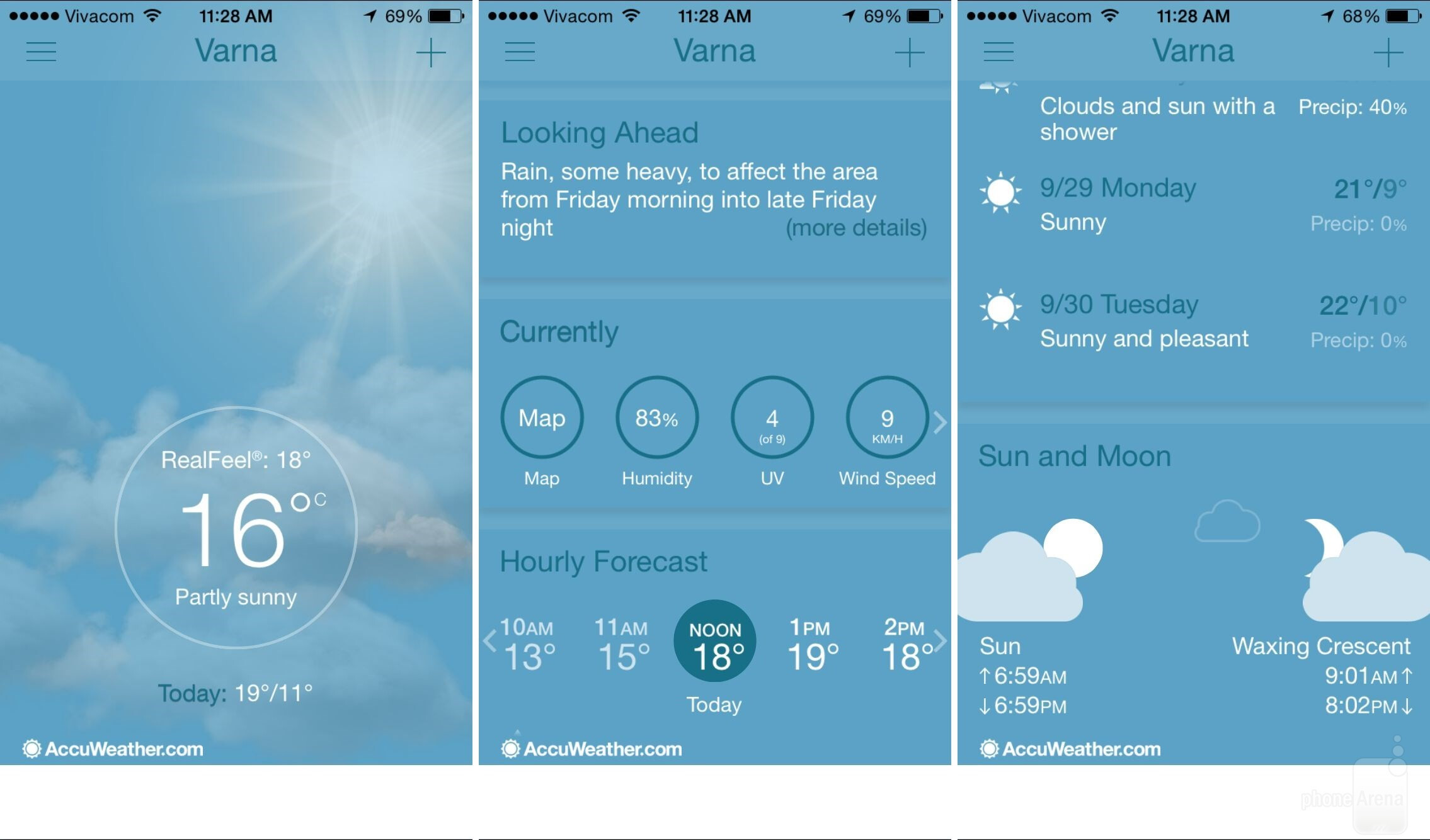 15 beautiful free weather app replacements for iphone and for Application iphone temperature interieur