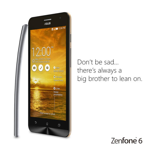 Asus pokes fun at Apple's bending iPhone 6 issue