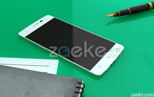 Two renders of the Oppo N3 surface