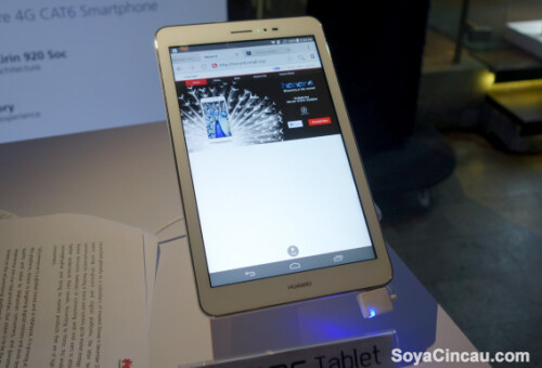 The Huawei Honor Tablet has been unveiled