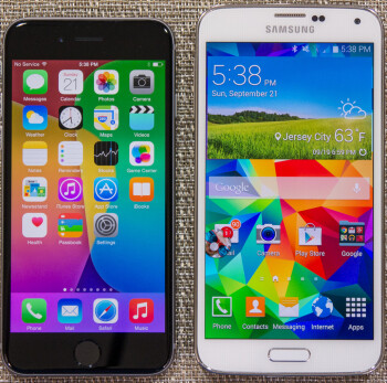 what s better samsung or iphone apple iphone 6 vs samsung galaxy s5 vote for the better 18224