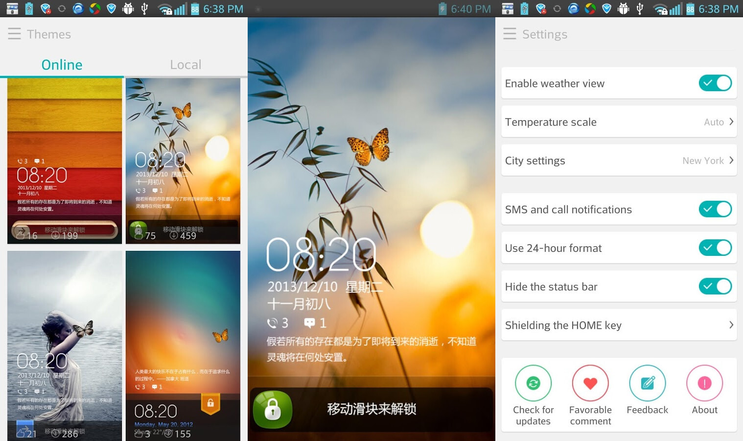 Samsung Themes Prevents Multiple Lock Screen Wallpaper: 10 Best Lock Screen Apps For Android (2014 Edition