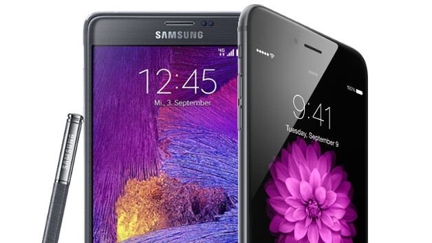 Samsung Galaxy Note 4 (with Exynos 5433) benchmarks surface: see how it compares with iPhone 6