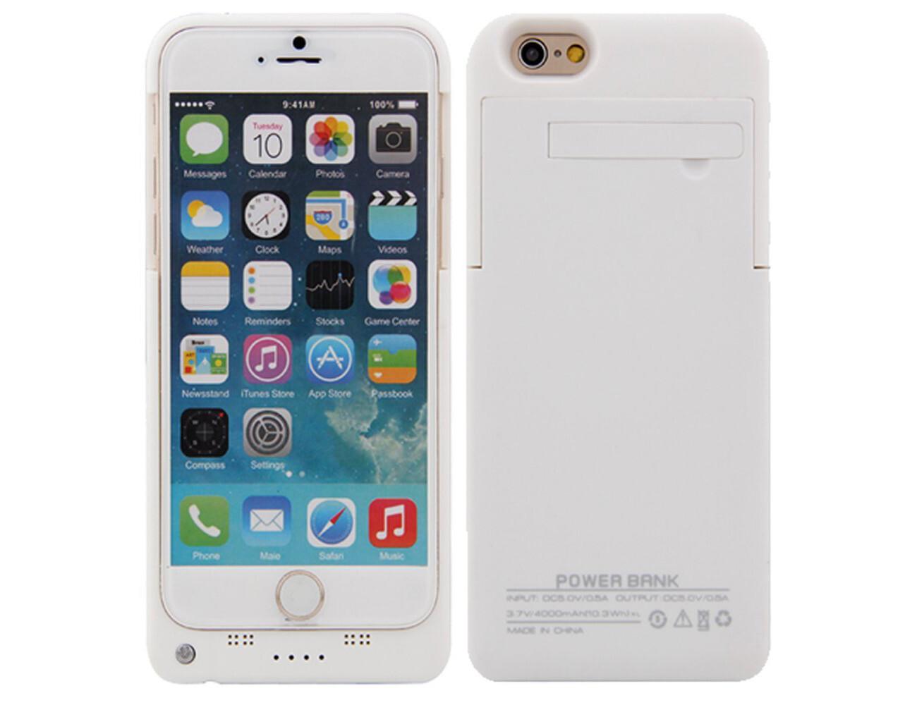 4000mAh External iPhone 6 Battery Case ($21.50)