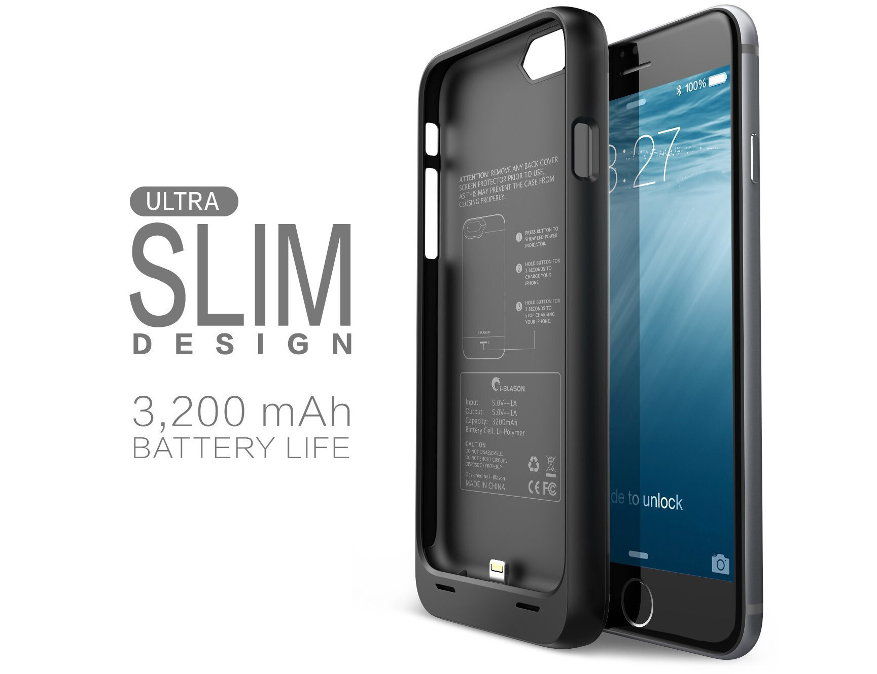 phone battery case for iphone 6
