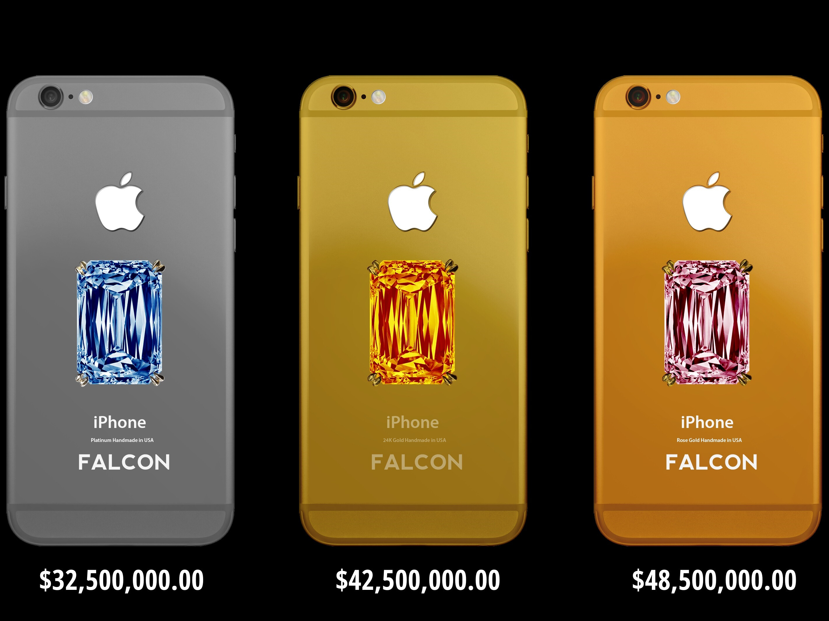 Falcon SuperNova Diamond iPhone 6 smartphones