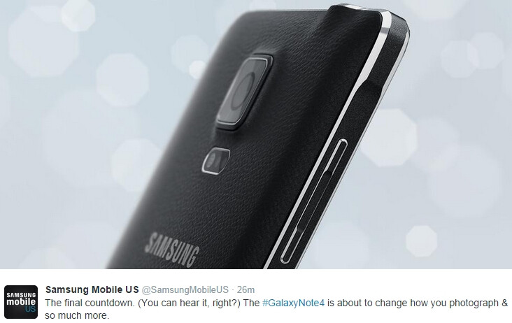 """Samsung says the Galaxy Note 4 is """"about to change how you photograph"""""""