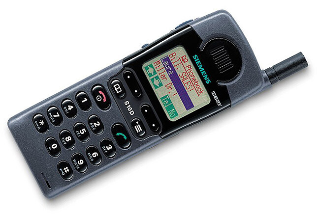 Siemens S10, launched in 1998