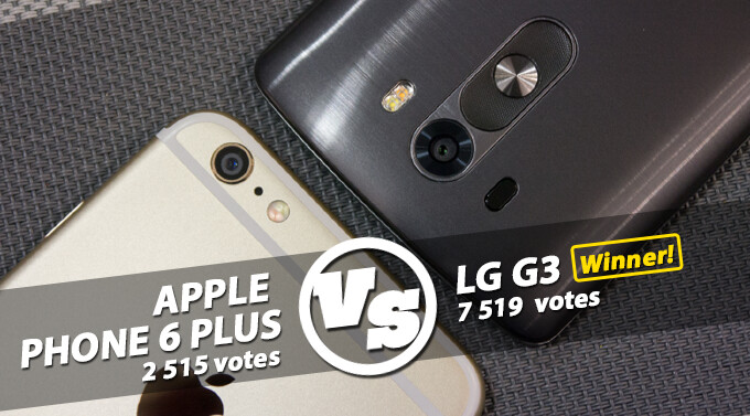 Reader's choice: the LG G3 is a better phablet than the iPhone 6 Plus