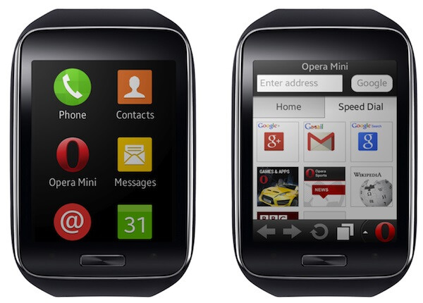 Opera Mini becomes the first browser for Samsung Gear S users to download