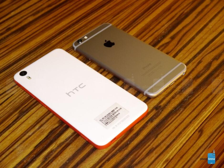 HTC Desire EYE vs Apple iPhone 6: first look
