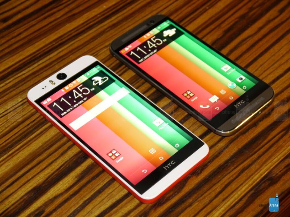 HTC Desire EYE versus HTC One (M8): first look