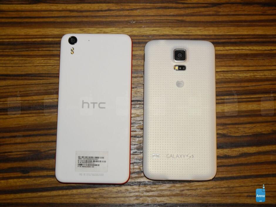 HTC Desire EYE versus Samsung Galaxy S5: first look
