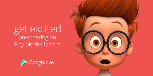 Google Play now accepts movie pre-orders (US only)