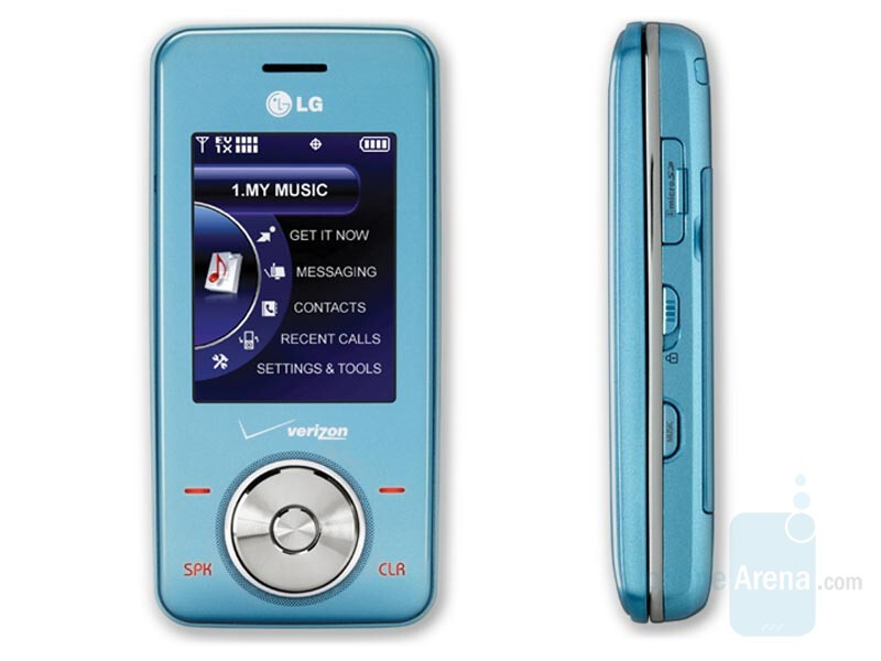 LG Chocolate Blue Ice now available