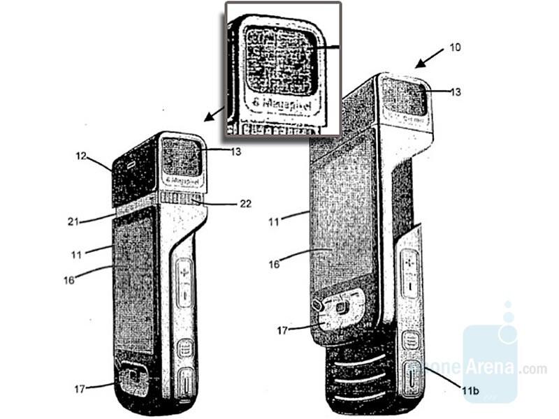 Nokia Patent Application - Nokia working on 8-megapixel slider?