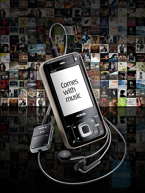 Nokia announced Comes with Music and Ovi