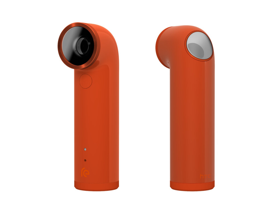 The HTC RE is a brave little camera that reinvents point and shoot photography