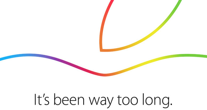 Apple schedules event for October 16, iPad Air 2 should be unveiled then