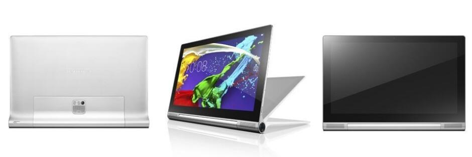 Lenovo and Ashton Kutcher present the YOGA Tablet 2 Pro - QHD, Pico projector, kickstand, and Intel goodness for $500