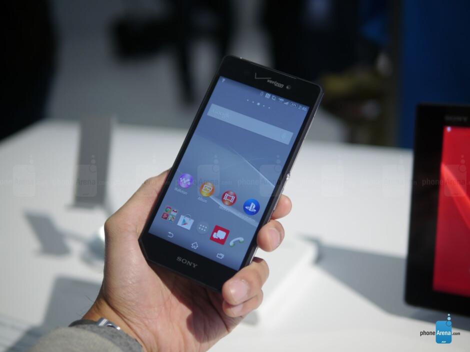 Sony Xperia Z3v hands-on