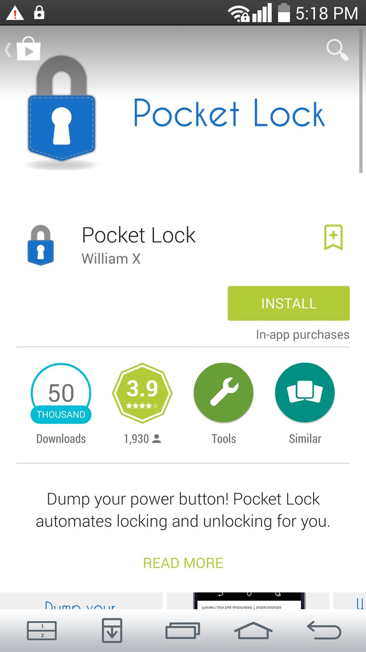 How to make your phone lock and unlock itself automatically when you take it out of your pocket