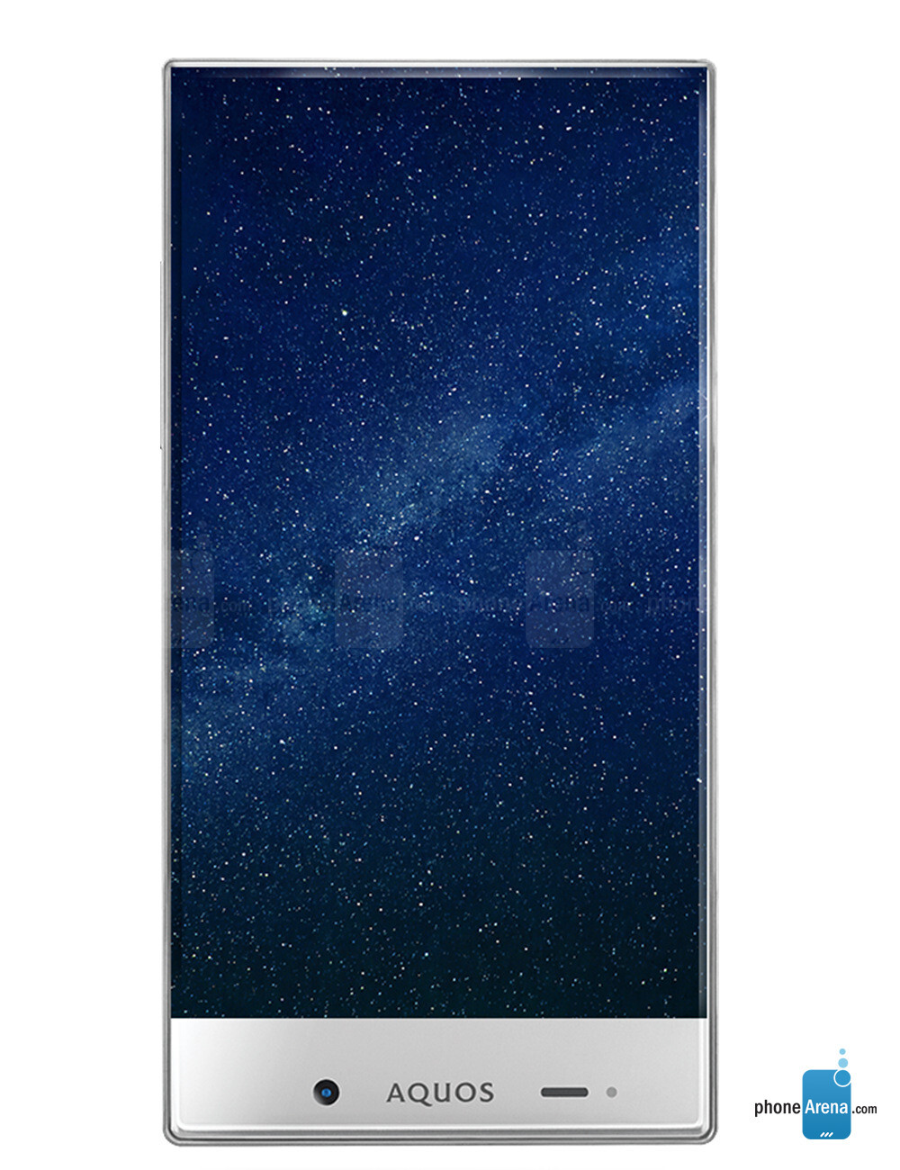 Sharp AQUOS Crystal (with its edgeless display) available now at ...